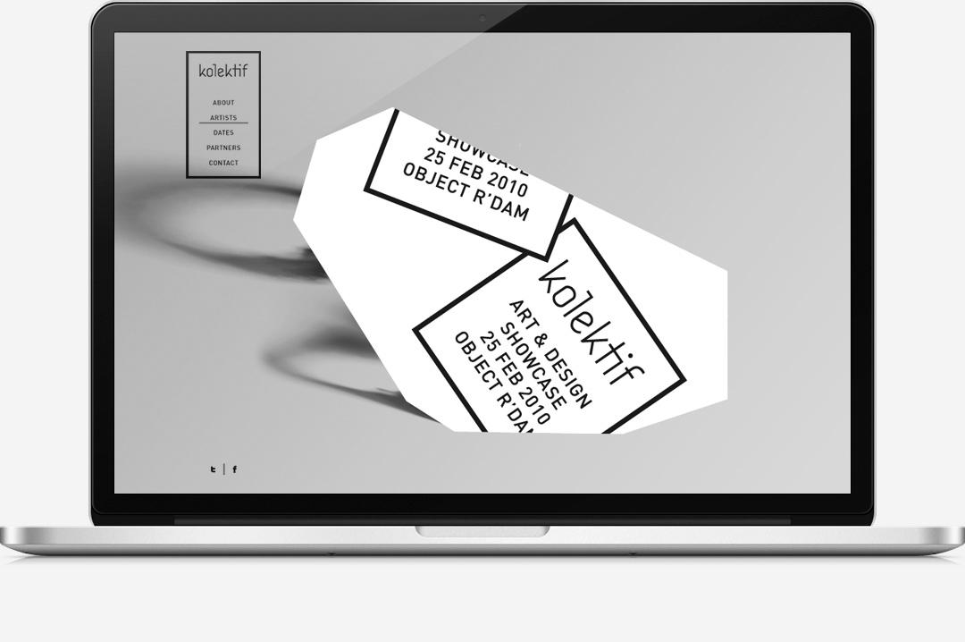 Kolektif Rotterdam identity website 3