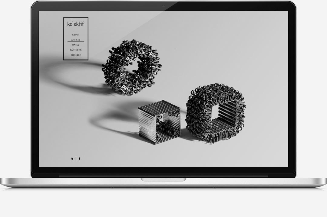 Kolektif Rotterdam identity website 4