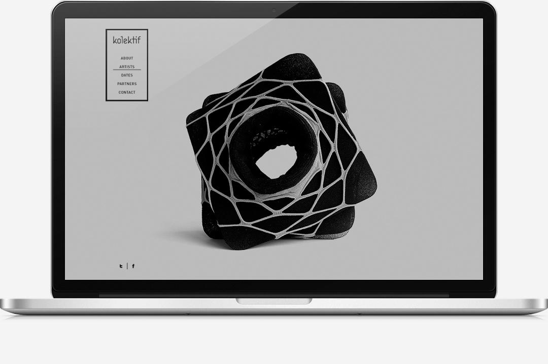 Kolektif Rotterdam identity website 5