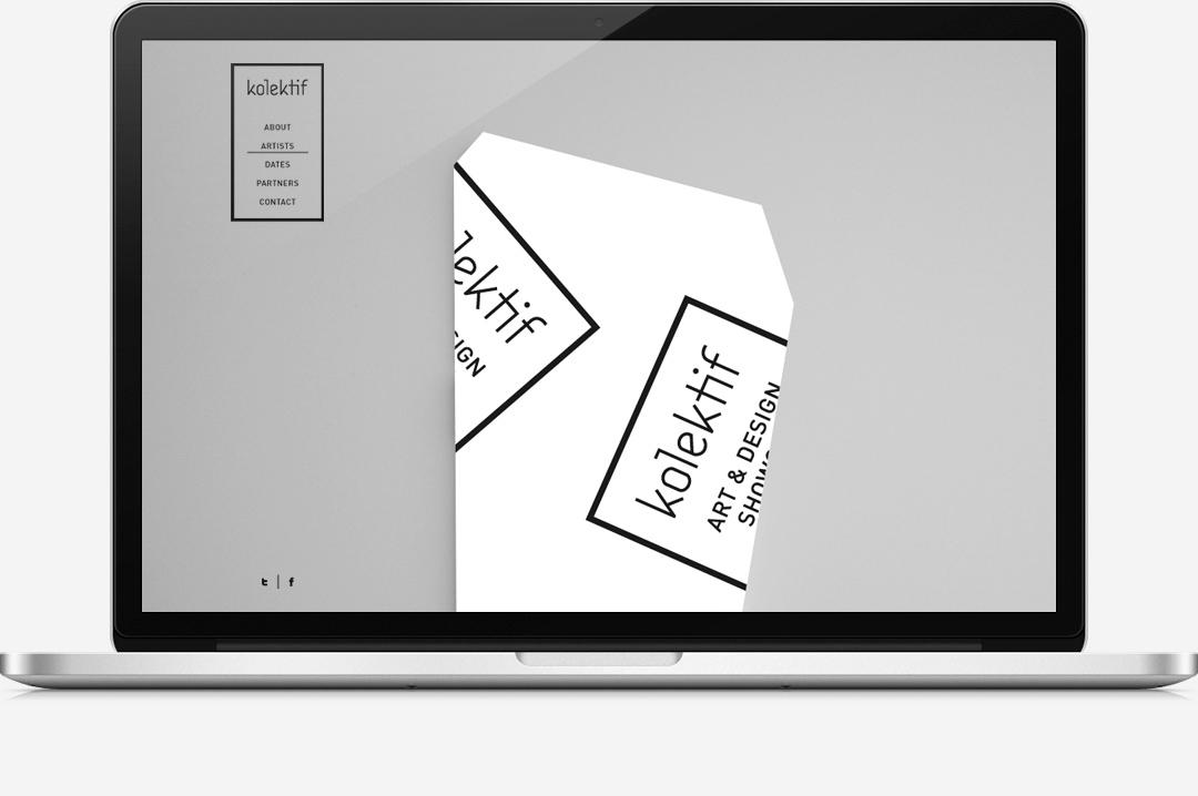 Kolektif Rotterdam identity website 6
