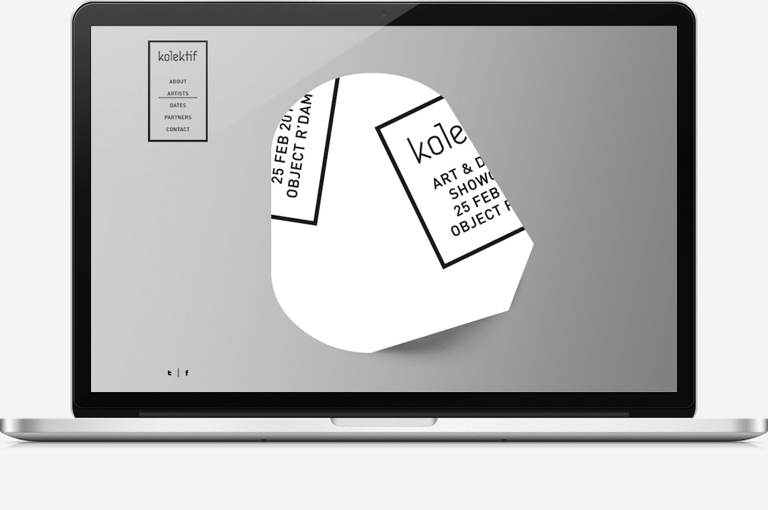 Kolektif Rotterdam identity website 8