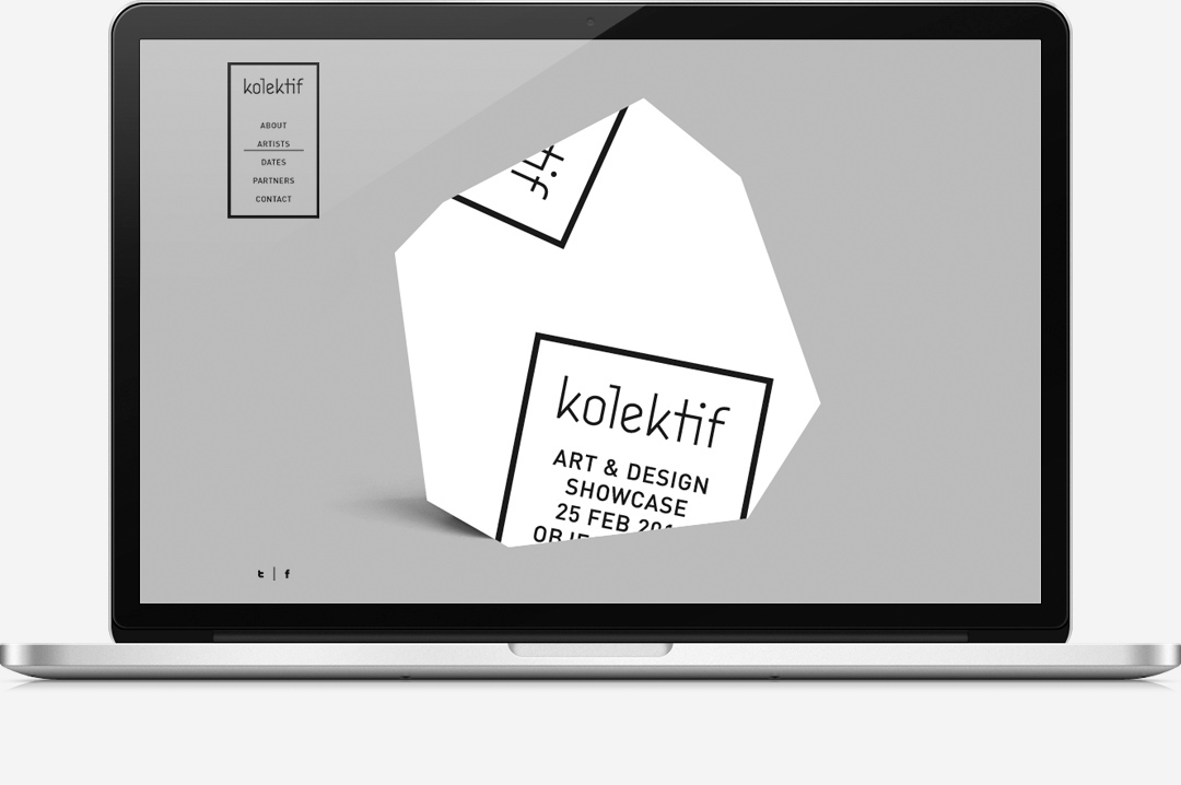 Kolektif Rotterdam identity website preview