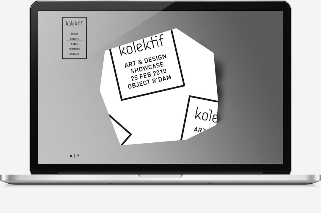 Kolektif Rotterdam identity website