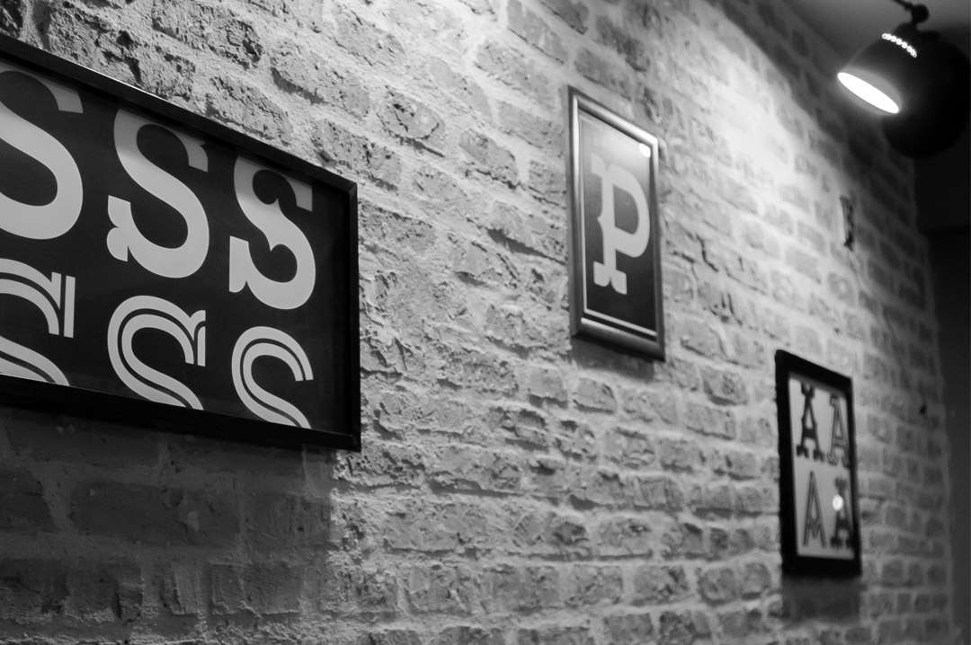 MyTapas identity typography posters 2